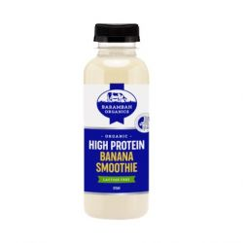 Organic High Protein Banana Smoothie