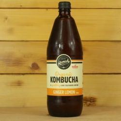 Ginger & Lemon Kombucha