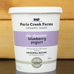 Organic Biodynamic Blueberry Yoghurt