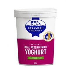 Real Passionfruit Yoghurt