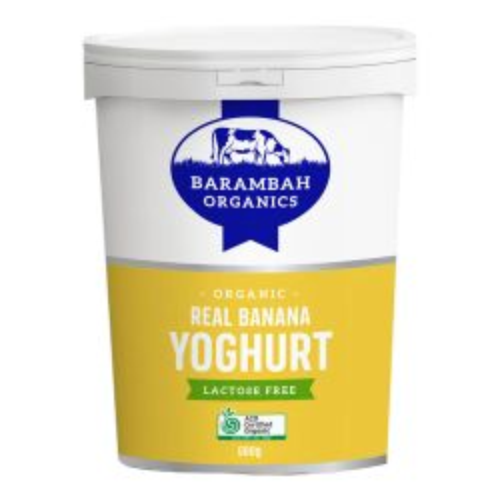 Lactose Free Yoghurt - Real Banana