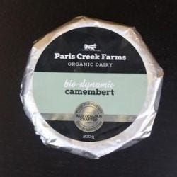 Organic Biodynamic Camembert
