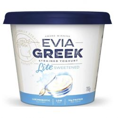 Lite Sweetened Plain Greek Yoghurt