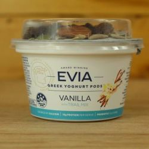 Greek Yoghurt Pods Vanilla with Trail Mix