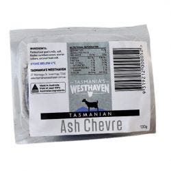 Goat Milk Ashed Chevre Cheese
