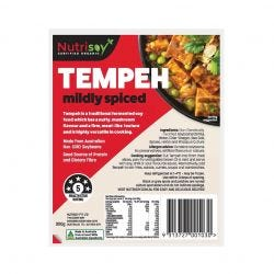 Mildly Spiced Tempeh