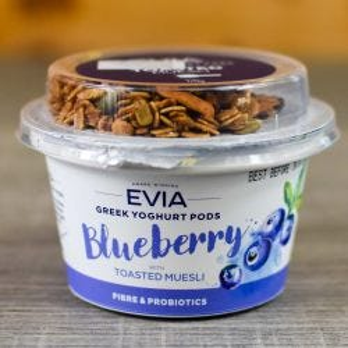 Greek Yoghurt Pods Blueberry with Toasted Muesli