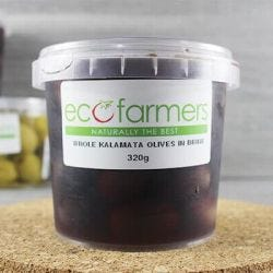 Whole Kalamata Olives in Brine