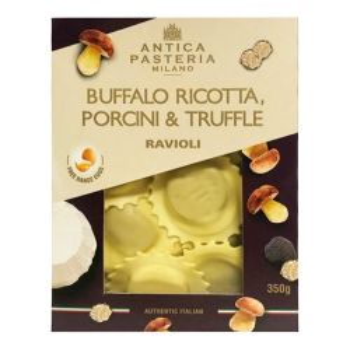 Ravioli - Buffalo Ricotta, Porcini & Truffle