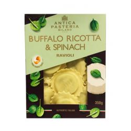 Buffalo Spinach Ravioli