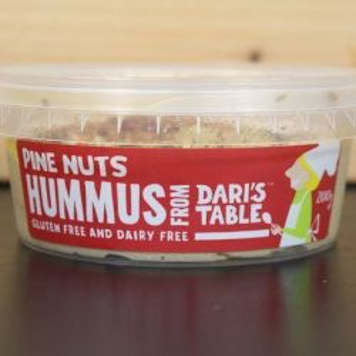 Pine Nuts Hummus