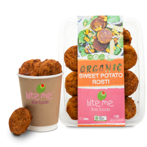Organic Sweet Potato Rostis
