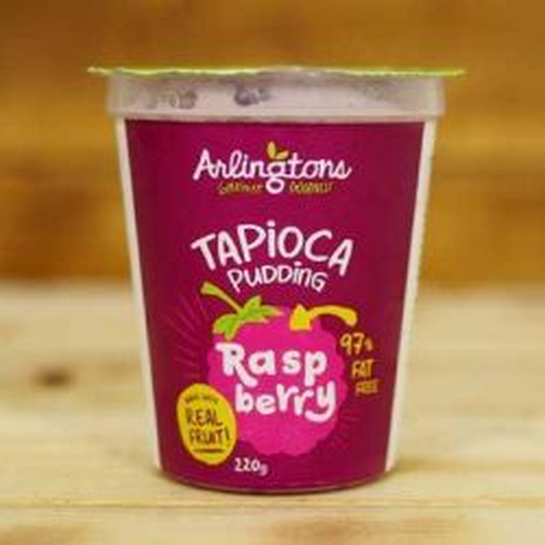 Tapioca Pudding Raspberry