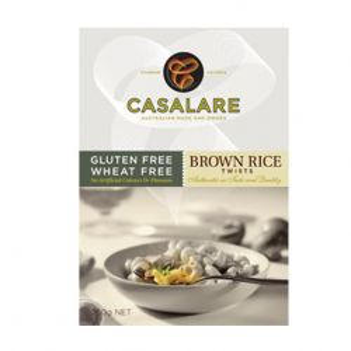 Gluten Free Brown Rice Twists