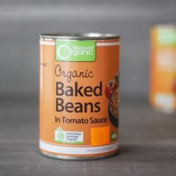 Organic Baked Beans in Tomato Sauce