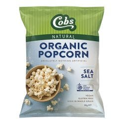 Organic Popcorn - Sea Salt