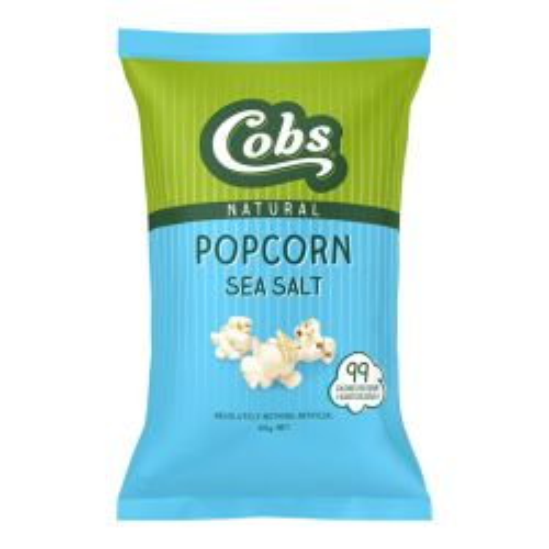 Natural Popcorn - Sea Salt