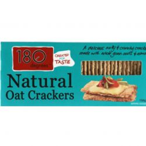 Natural Oat Crackers