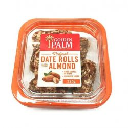 Date Rolls with Almond