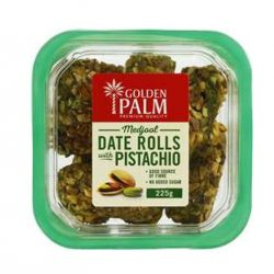 Date Rolls with Pistachio