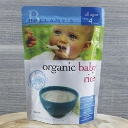 Organic Baby Rice with Prebiotic
