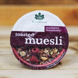 Toasted Macadamia Muesli with Cranberry