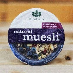 Natural Macadamia Muesli with Cranberry