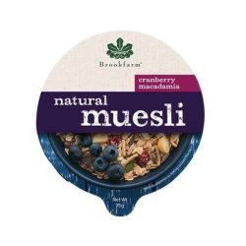 Natural Macadamia Muesli with Cranberry