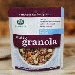 Nutty Granola Maple Vanilla