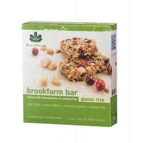 Gluten Free Macadamia & Cranberry Bars - Multipack