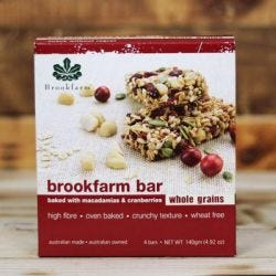 Wholegrain Macadamia & Cranberry Bars - Multipack