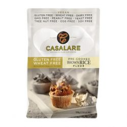 Pre-cooked Gluten Free Brown Rice Flour