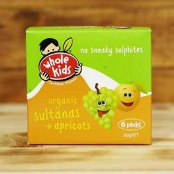 Organic Sultanas & Apricots - Multipack