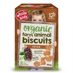 Little Munchkins Farm Biscuits Cocoa