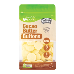 Organic Raw Cacao Butter Buttons