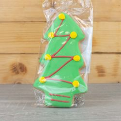 Christmas Tree Iced Gingerbread