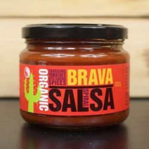 Organic Brava Spicy Salsa