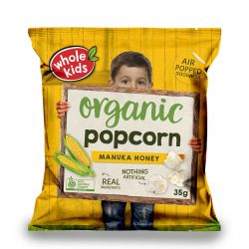 Organic Manuka Honey Popcorn