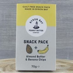 Almond Banana Snack Pack