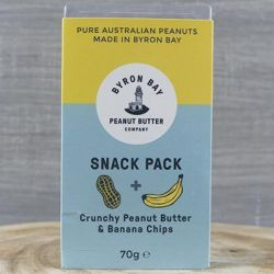 Peanut Banana Snack Pack
