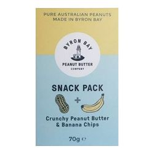 Snack Pack - Crunchy Peanut Butter & Banana Chips