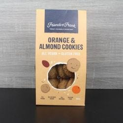 Orange & Almond Cookies