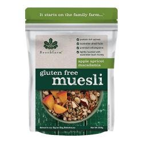 Gluten Free Macadamia Muesli - Apple & Apricot