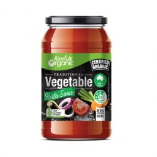 Organic Vegetable Pasta Sauce
