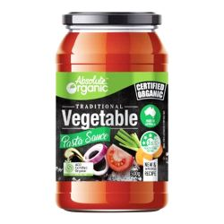 Pasta Sauce - Vegetable (Traditional)