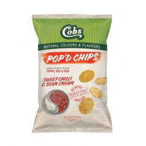 Pop'd Chips Sweet Chilli & Sour Cream