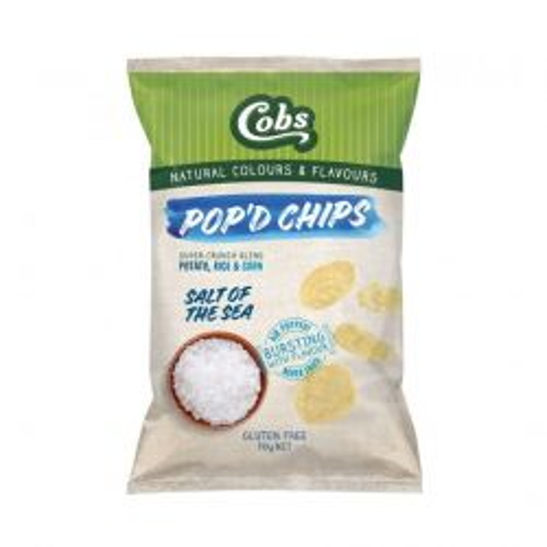Pop'd Chips Sea Salt