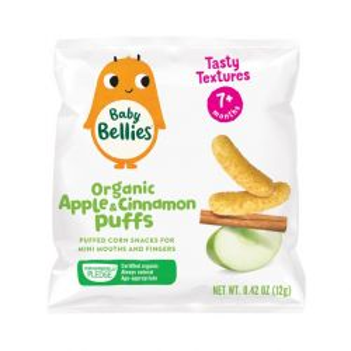 Organic Apple & Cinnamon Puffs