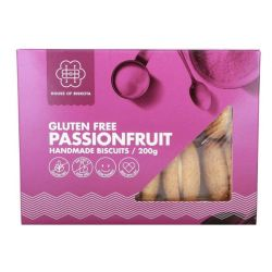 Gluten Free Passionfruit Kisses Biscuits