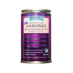 Sardines with Pepper Berry Leaf